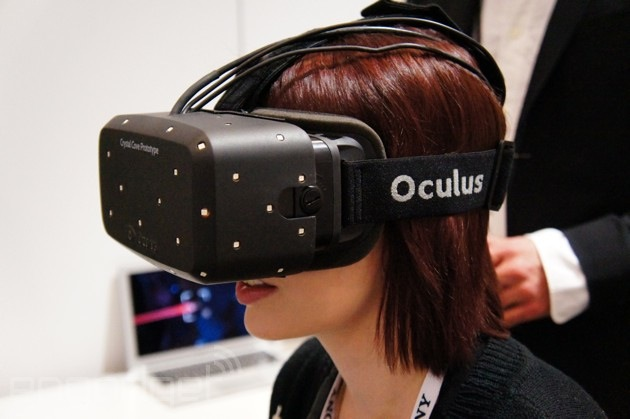 Crystal Cove Model of Oculus Rift at International CES