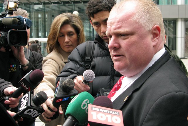 Rob Ford Calls Self Best Toronto Mayor Ever