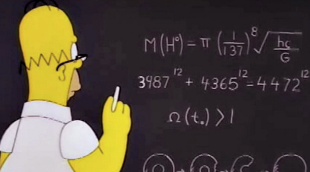 The Simpsons Mathematically Summed Up by Simon Singh