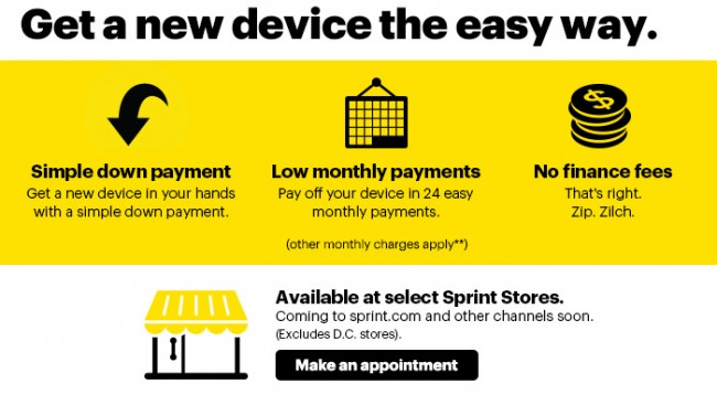 Sprint Dumps One Up Early Upgrade Plan Adds Framily Plans and Easy Pay