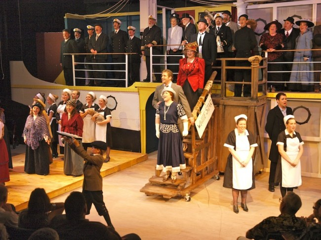Titanic Musical Preparing To Set Sail