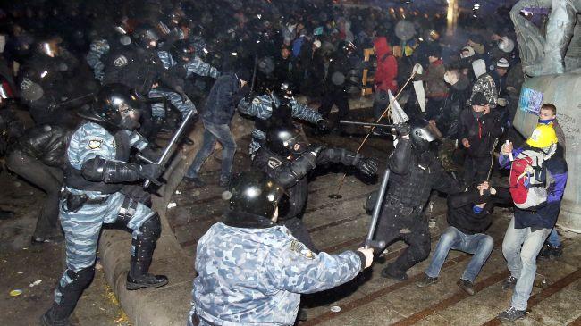Ukraine Protest Ban
