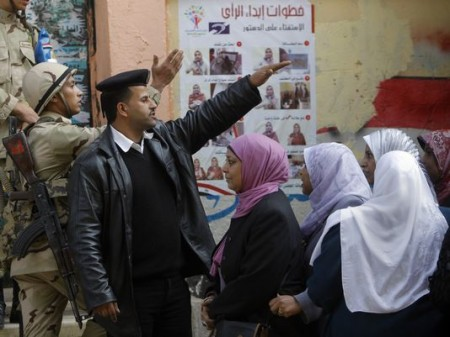 Egypt goes to the polls