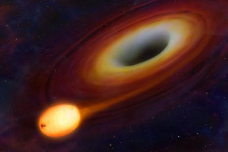 astronomers, black hole