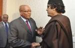 Zuma and Gaddafi
