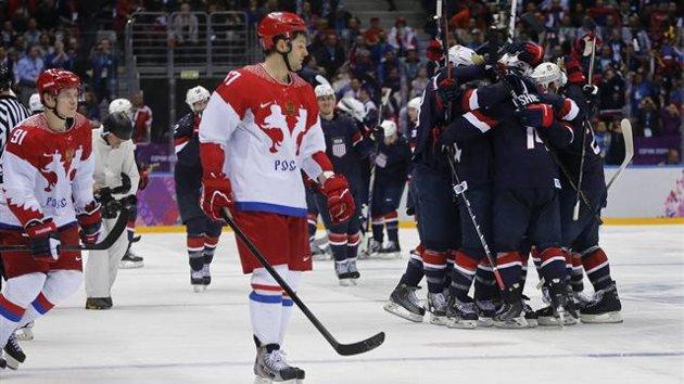 Team USA Led by T.J. Oshie Beats Russia 3-2