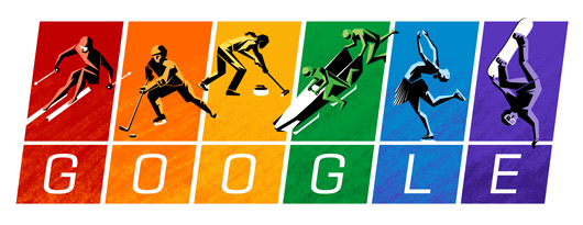 google, technology, sochi olympics