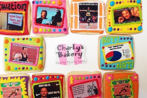 Pistorius Cookies in Bad Taste for Bakery