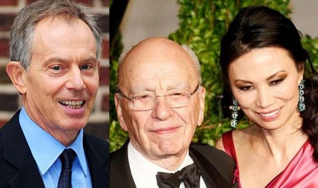 Wendy Deng's Big Crush on Tony Blair