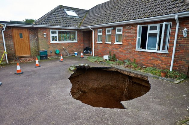Sinkholes: Should We Be Scared?