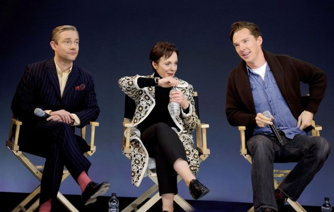 Benedict Cumberbatch Fans Not Disappointed During Meet The Filmmakers Event