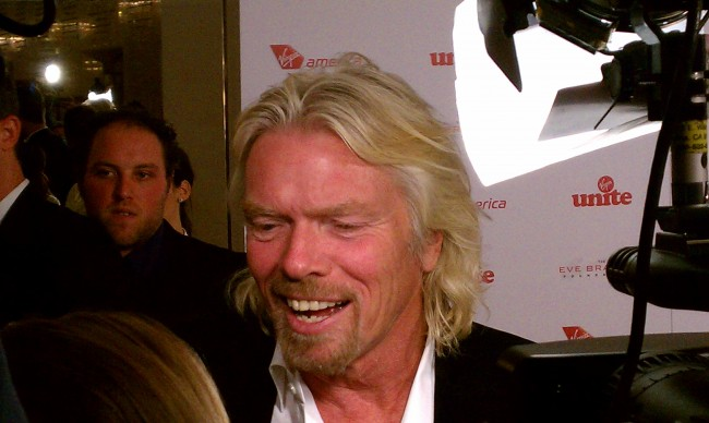 British entrepreneur Sir Richard Branson has unveiled plans for a Spaceport in the UAE