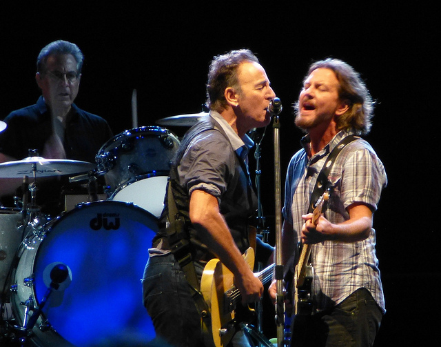 Bruce Springsteen, Eddie Vedder Play Perth on Same Night Cover AC/DC