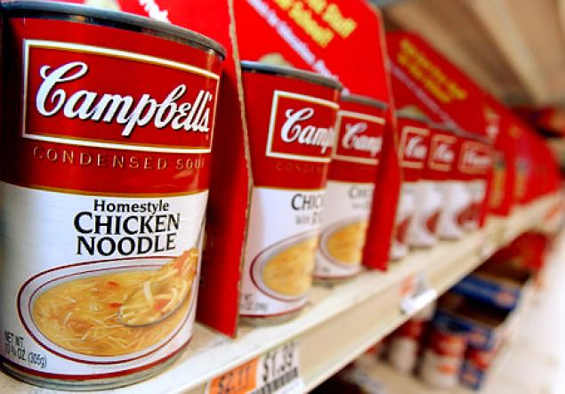 Strong 3rd for Campbell Soup