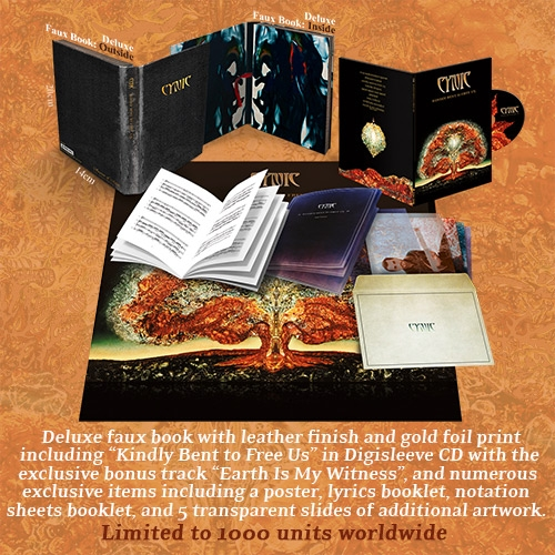Kindly Bent to Free Us Deluxe package Cynic February 14