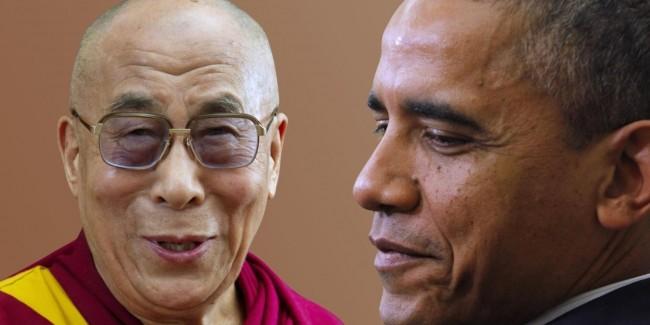 Dalai Lama and President Obama Meet Amid Chinese Protests