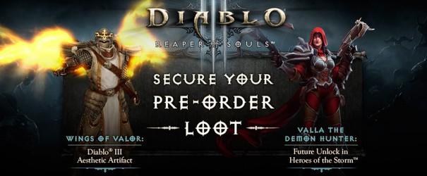 Diablo III Diablo 3 Reaper of Souls pre-order bonus