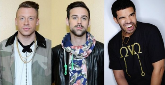 Drake, macklemore, entertainment