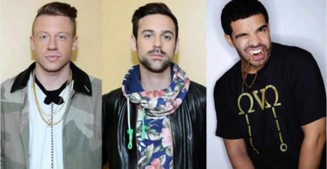 Drake, macklemore, entertainment