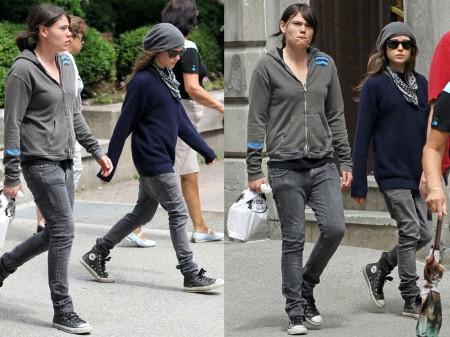 Page and actress Clea Du Vall were rumored to be seeing one another