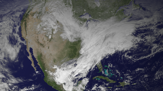 Excessively Cold Winter May Be Caused By New Type of Jet Stream