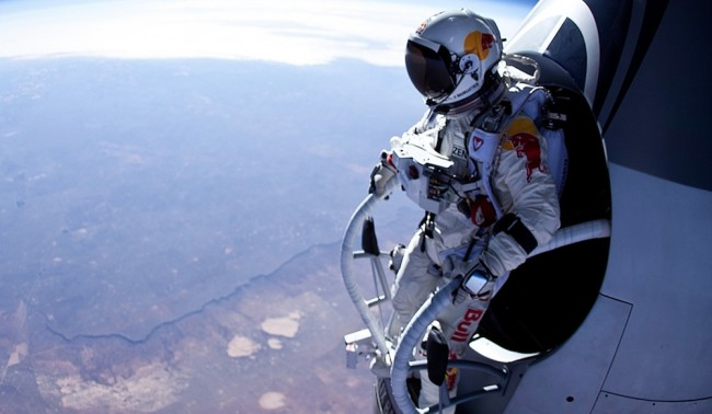science, felix baumgartner, space jump, red bull