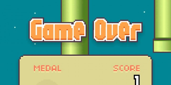 Flappy Bird Flies Bye-Bye