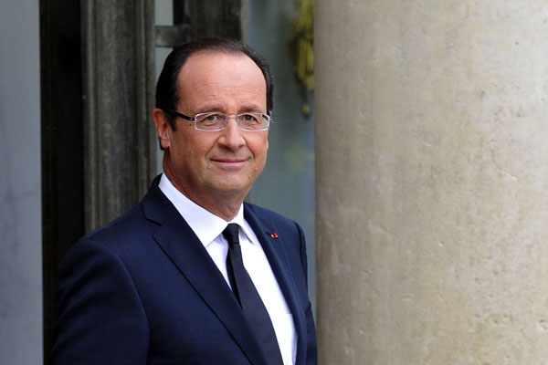 Francois Illas New Tradition: Francois Hollande, President Of France Attends White House