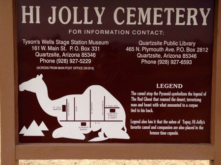 Hi Jolly and the Legend of the Red Ghost
