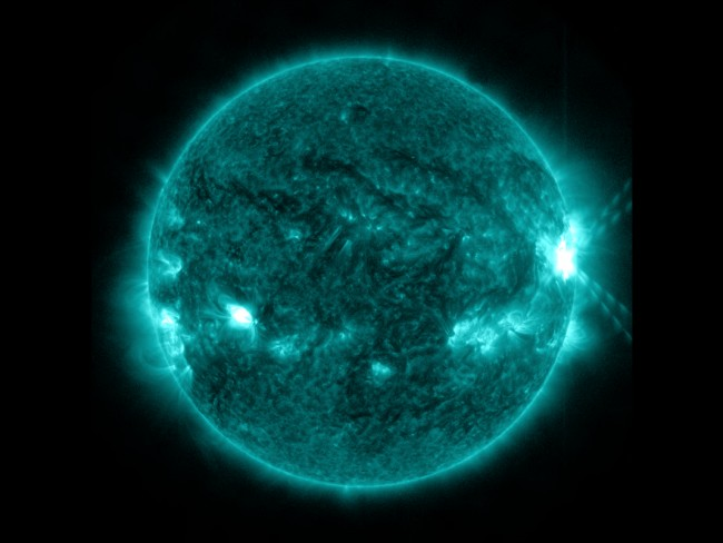 IRIS Observes Largest Solar Flare Since Launch
