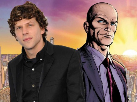 Jesse Eisenberg is set to play Lex Luther in Batman Superman movie
