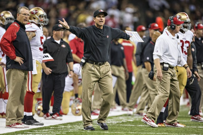 Jim Harbaugh Drama