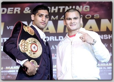 Khan and Maidana