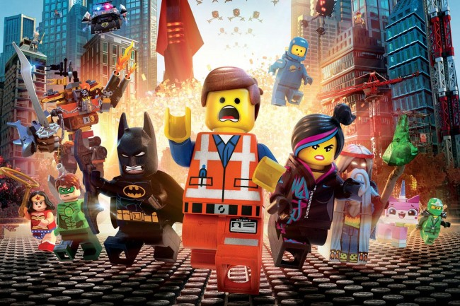 Lego Movie, Animation