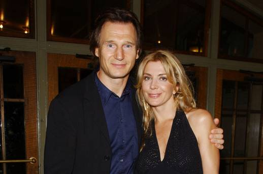 Liam neeson remembers late wife natasha richardson in for Natasha richardson liam neeson wedding