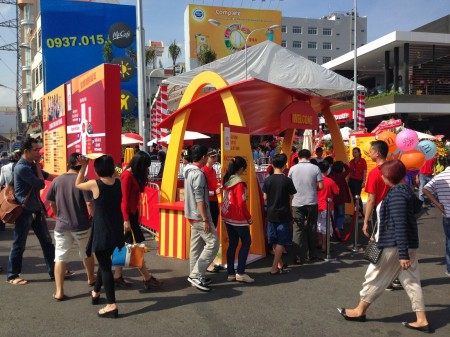 McDonald's Opens in Vietnam