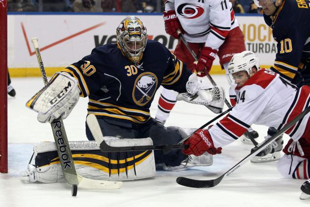NHL Buffalo Sabres Ryan Miller Carolina Hurricanes