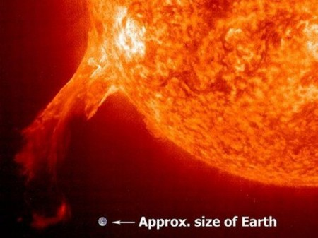 NASA Shows the Surface of the Sun is Acting Up