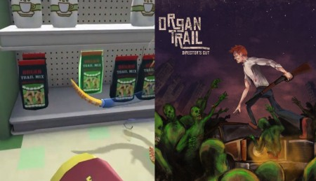 Organ Trail Director's Cut reference in Octodad