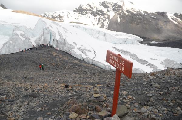 Peru  Glacier Melt
