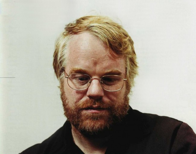 Philip Seymour Hoffman - self-reflective