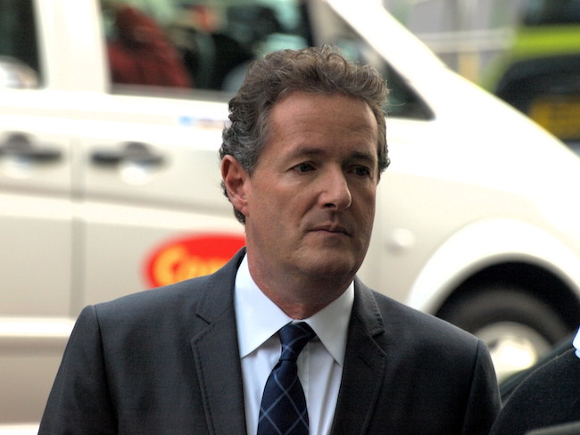 Piers Morgan Walks the Plank