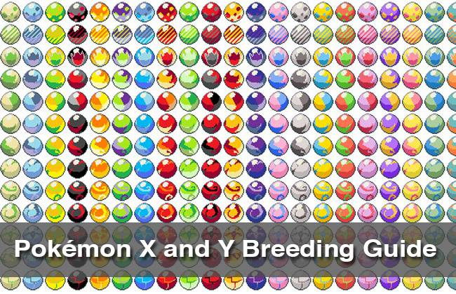Pokemon X Pokemon Y breeding guide