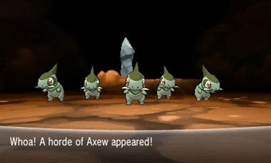 Horde battles for EV training and hidden ability in Pokemon X and Y