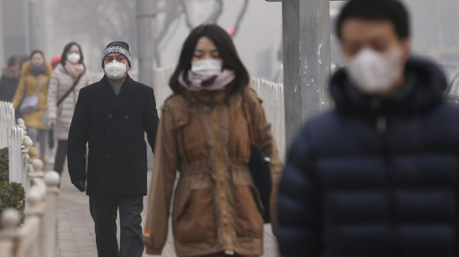 Beijing Air Pollution Hits Orange Alert Level