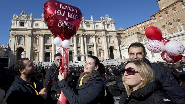 Pope Francis and the Valentine's Day Fable