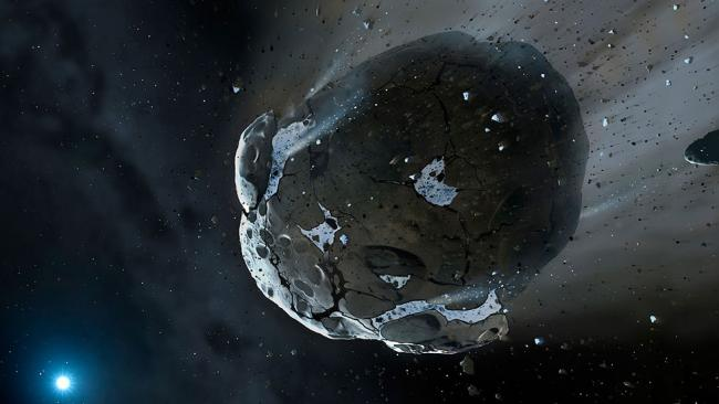 Recap of Asteroid 2000 EM 26 Flying By Earth (Video)