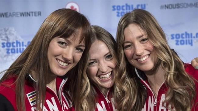 Sochi, canadian, olympics, sisters, medals
