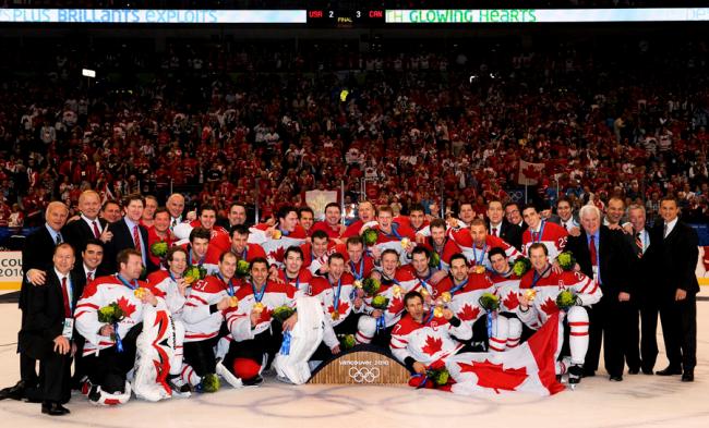Sochi Winter Olympics Team Canada Team USA