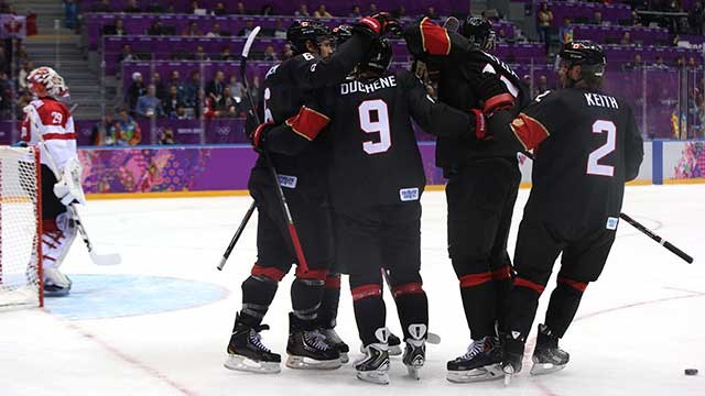 Sochi Winter Olympics Team Canada